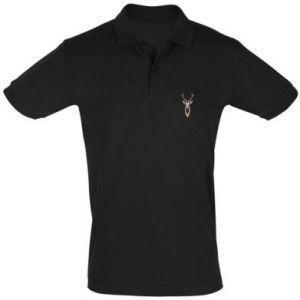Men's Polo shirt Gentle deer - PrintSalon