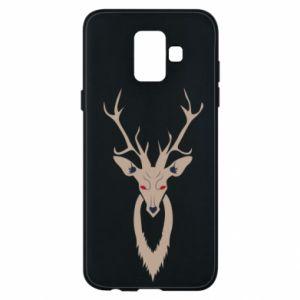Phone case for Samsung A6 2018 Gentle deer - PrintSalon