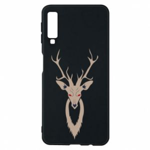 Phone case for Samsung A7 2018 Gentle deer - PrintSalon