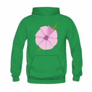 Bluza z kapturem dziecięca Gentle flower abstraction