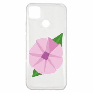 Etui na Xiaomi Redmi 9c Gentle flower abstraction