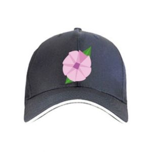 Cap Gentle flower abstraction - PrintSalon