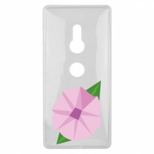 Etui na Sony Xperia XZ2 Gentle flower abstraction