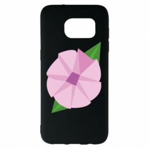 Etui na Samsung S7 EDGE Gentle flower abstraction