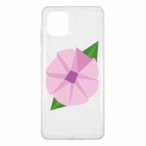 Etui na Samsung Note 10 Lite Gentle flower abstraction