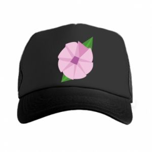Trucker hat Gentle flower abstraction - PrintSalon