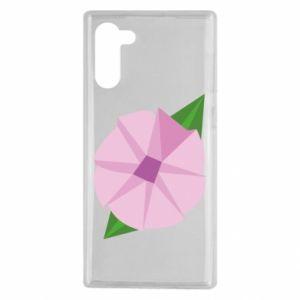 Etui na Samsung Note 10 Gentle flower abstraction
