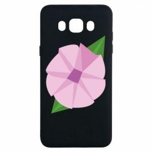 Etui na Samsung J7 2016 Gentle flower abstraction