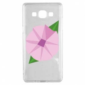 Etui na Samsung A5 2015 Gentle flower abstraction