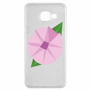 Etui na Samsung A3 2016 Gentle flower abstraction