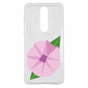 Etui na Nokia 5.1 Plus Gentle flower abstraction