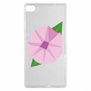 Etui na Huawei P8 Gentle flower abstraction