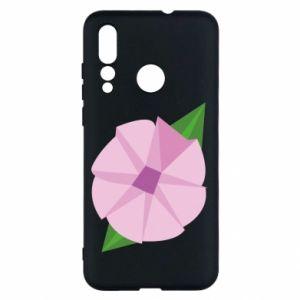 Etui na Huawei Nova 4 Gentle flower abstraction