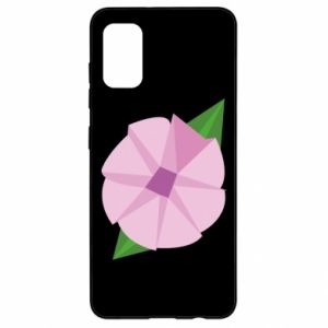 Etui na Samsung A41 Gentle flower abstraction