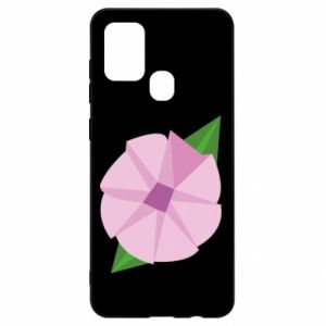 Etui na Samsung A21s Gentle flower abstraction