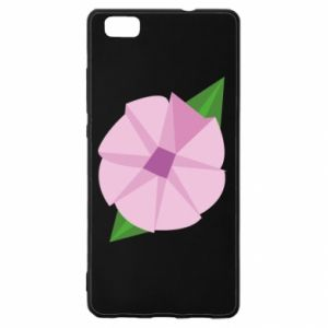 Etui na Huawei P 8 Lite Gentle flower abstraction