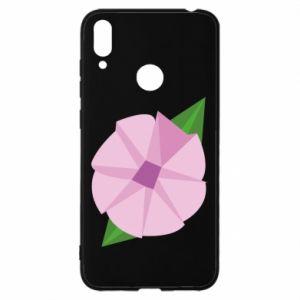 Etui na Huawei Y7 2019 Gentle flower abstraction