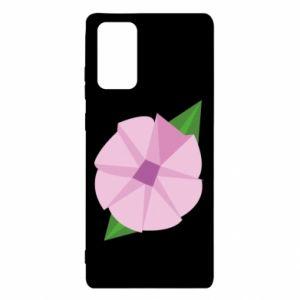 Etui na Samsung Note 20 Gentle flower abstraction