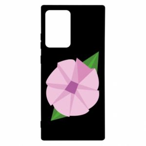 Etui na Samsung Note 20 Ultra Gentle flower abstraction