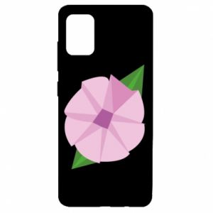 Etui na Samsung A51 Gentle flower abstraction
