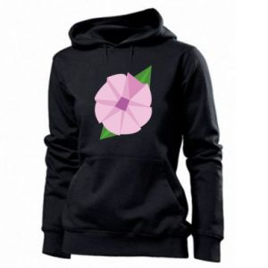 Women's hoodies Gentle flower abstraction - PrintSalon