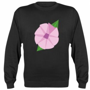 Sweatshirt Gentle flower abstraction - PrintSalon
