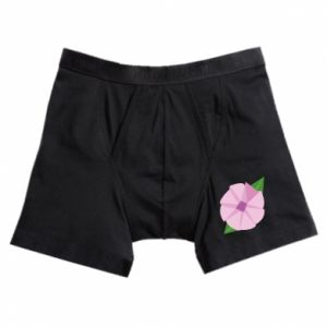 Boxer trunks Gentle flower abstraction - PrintSalon