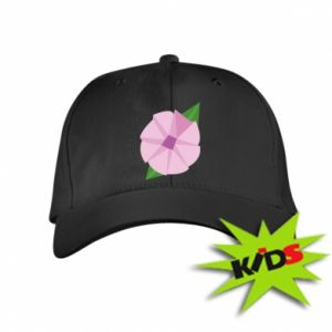 Kids' cap Gentle flower abstraction - PrintSalon