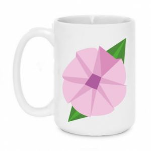 Mug 450ml Gentle flower abstraction - PrintSalon