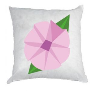Pillow Gentle flower abstraction - PrintSalon