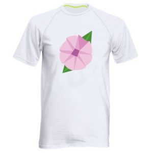 Men's sports t-shirt Gentle flower abstraction - PrintSalon