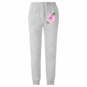 Męskie spodnie lekkie Gentle flower abstraction