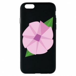 Phone case for iPhone 6/6S Gentle flower abstraction - PrintSalon