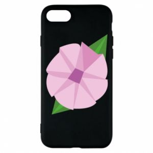 Phone case for iPhone 7 Gentle flower abstraction - PrintSalon