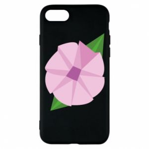 Phone case for iPhone 8 Gentle flower abstraction - PrintSalon