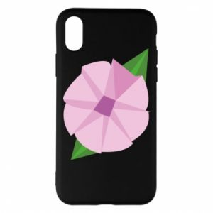 Phone case for iPhone X/Xs Gentle flower abstraction - PrintSalon
