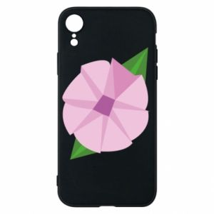 Phone case for iPhone XR Gentle flower abstraction - PrintSalon