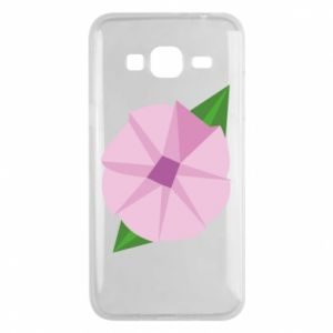 Phone case for Samsung J3 2016 Gentle flower abstraction - PrintSalon