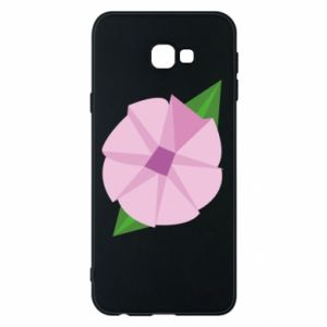 Phone case for Samsung J4 Plus 2018 Gentle flower abstraction - PrintSalon