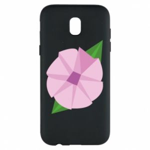 Phone case for Samsung J5 2017 Gentle flower abstraction - PrintSalon