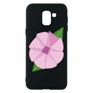 Phone case for Samsung J6 Gentle flower abstraction - PrintSalon