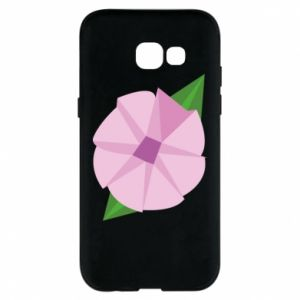 Phone case for Samsung A5 2017 Gentle flower abstraction - PrintSalon