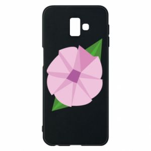 Phone case for Samsung J6 Plus 2018 Gentle flower abstraction - PrintSalon