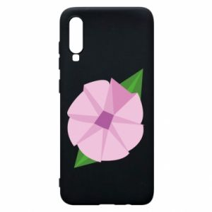 Phone case for Samsung A70 Gentle flower abstraction - PrintSalon