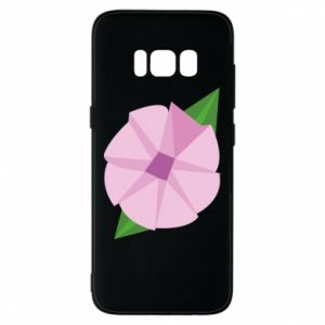 Phone case for Samsung S8 Gentle flower abstraction - PrintSalon