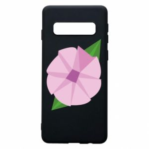 Phone case for Samsung S10 Gentle flower abstraction - PrintSalon