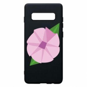 Phone case for Samsung S10+ Gentle flower abstraction - PrintSalon