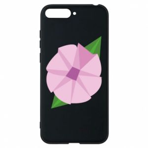 Phone case for Huawei Y6 2018 Gentle flower abstraction - PrintSalon