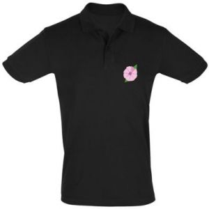Men's Polo shirt Gentle flower abstraction - PrintSalon