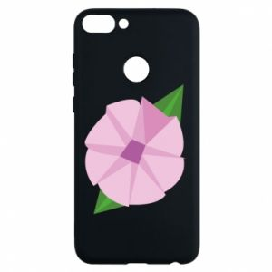 Phone case for Huawei P Smart Gentle flower abstraction - PrintSalon